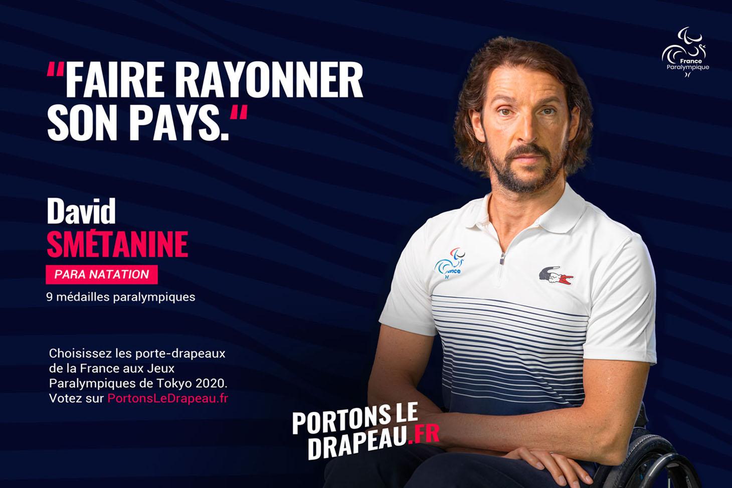David SMETANINE. JO paralympiques 2021