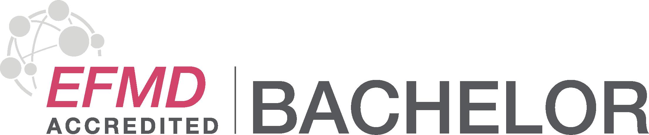 logo EFMD Accredited Bachelor