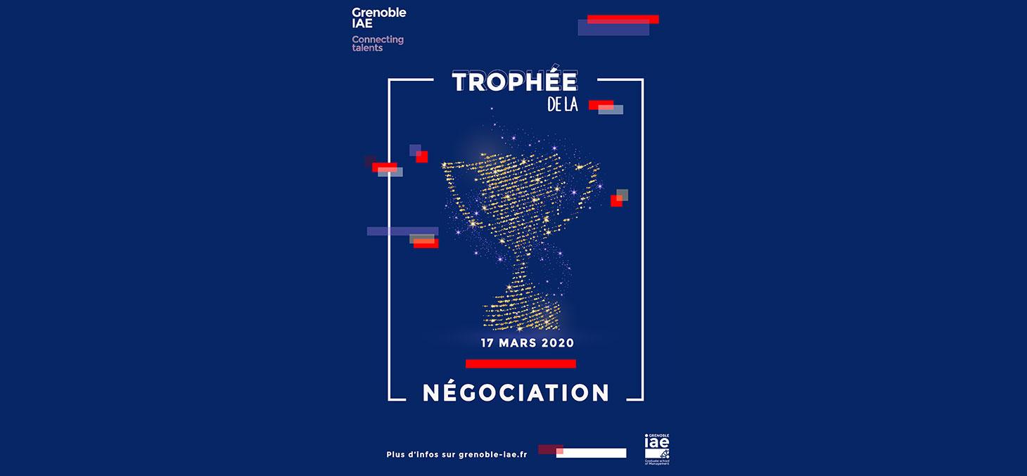Affiche Trophée de la négociation 2020